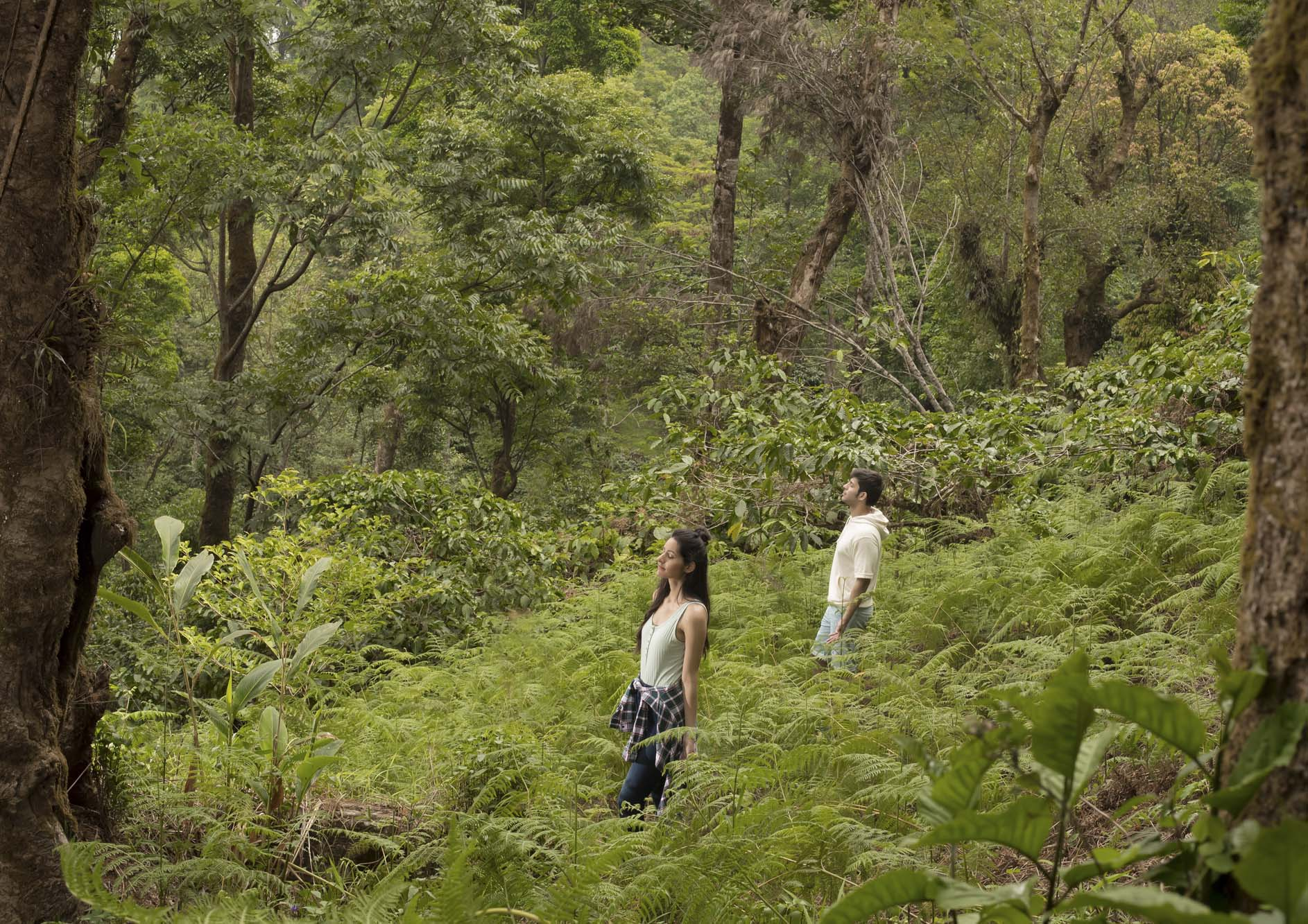 couple-experiencing-nature-at-the-tamara-coorg